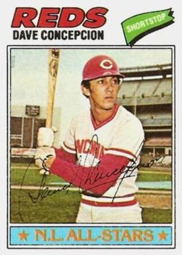 Photo of 1977 Topps #560 Dave Concepcion