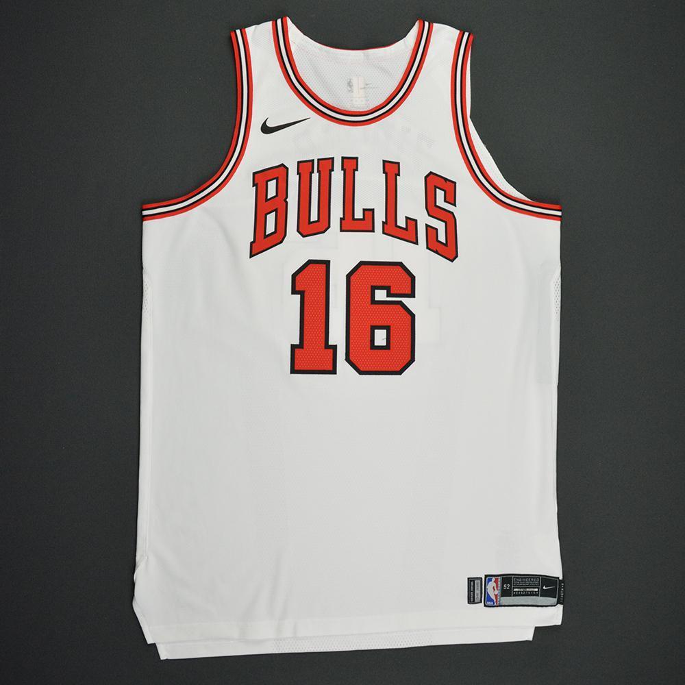 Paul Zipser - Chicago Bulls - Kia NBA Tip-Off 2017 - Game-Worn Jersey