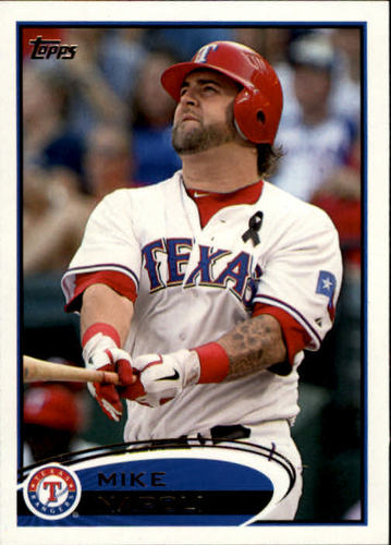 Photo of 2012 Topps #37 Mike Napoli