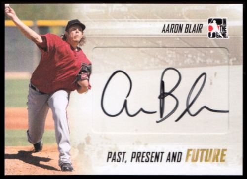 Photo of 2014 ITG Past Present Future Autographs #PPFAB3 Aaron Blair