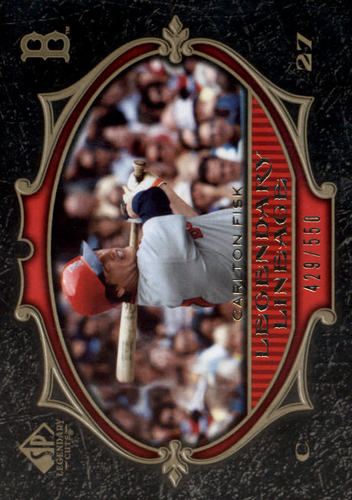 Photo of 2007 SP Legendary Cuts #112 Carlton Fisk LL