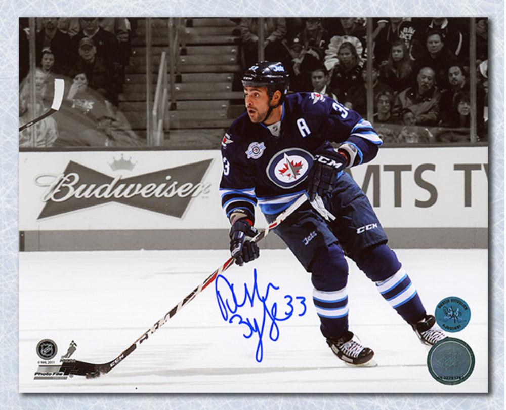 Dustin Byfuglien Winnipeg Jets Autographed Spotlight 8x10 Photo