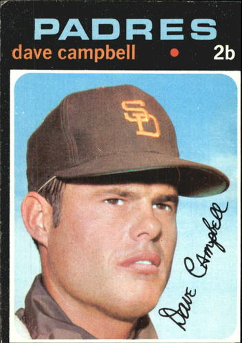 Photo of 1971 Topps #46 Dave Campbell