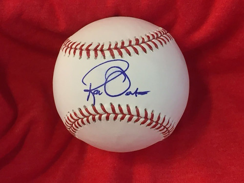 Ron Oester Autographed Baseball