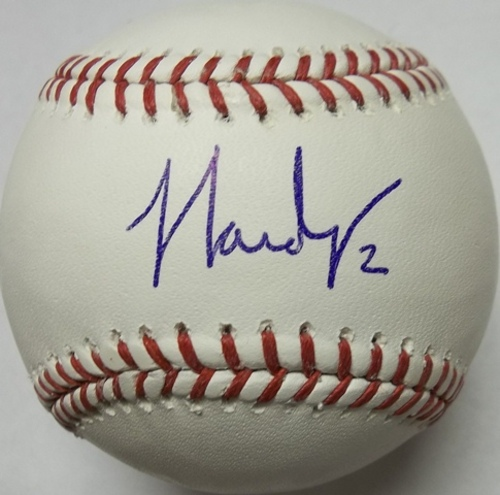 Photo of J.J. Hardy Autographed Baseball