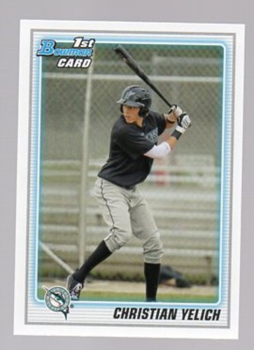 Photo of 2010 Bowman Chrome Draft Prospects #BDPP78 Christian Yelich