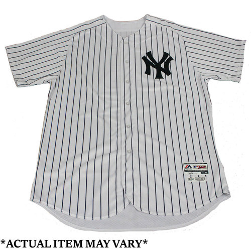 Photo of Tommy Layne New York Yankees 2017 Opening Day Game-Used #39 Pinstripe Jersey (4/10/2017) (Size 44)