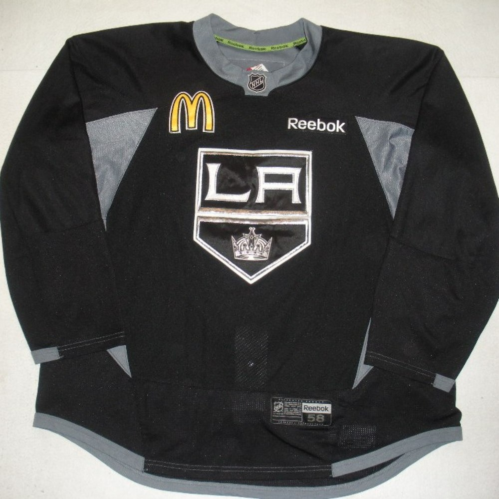 Matt Greene - 2014 Stanley Cup Final - Los Angeles Kings - Practice-Worn Jersey