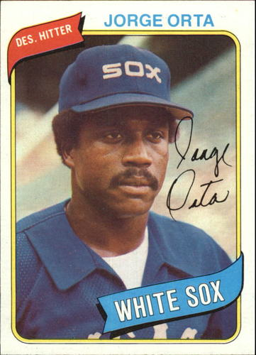 Photo of 1980 Topps #442 Jorge Orta