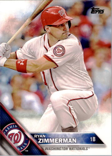 Photo of 2016 Topps #45 Ryan Zimmerman