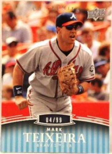 Photo of 2008 Upper Deck Premier #4 Mark Teixeira