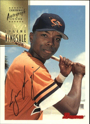 Photo of 1997 Bowman Certified Black Ink Autographs #CA44 Eugene Kingsale