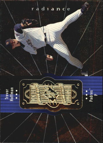 Photo of 1998 SPx Finite Radiance #124 Trevor Hoffman