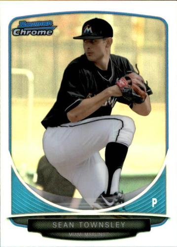 Photo of 2013 Bowman Chrome Mini Refractors #291 Sean Townsley
