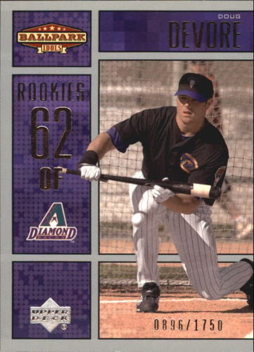 Photo of 2002 Upper Deck Ballpark Idols #214 Doug Devore ROO RC