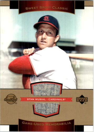 Photo of 2003 Sweet Spot Classics Game Jersey #SM Stan Musial SP