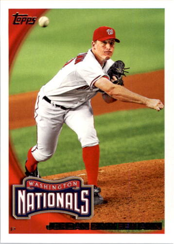 Photo of 2010 Topps #348 Jordan Zimmermann