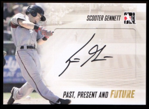 Photo of 2014 ITG Past Present Future Autographs #PPFSG1 Scooter Gennett