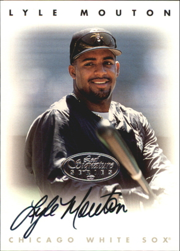 Photo of 1996 Leaf Signature Autographs Silver #162 Lyle Mouton