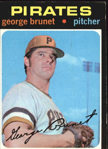 Photo of 1971 Topps #73 George Brunet