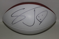 CHARGERS - STEVIE JOHNSON SIGNED PANEL BALL