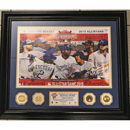 2015 All-Star Autographed Frame Picture