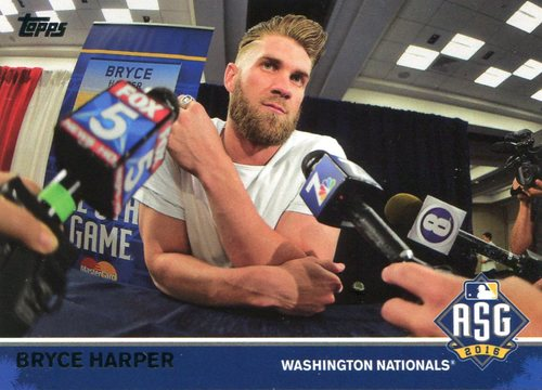 Photo of 2016 Topps Update All-Star Game Access #MLB10 Bryce Harper -- Nationals post-season