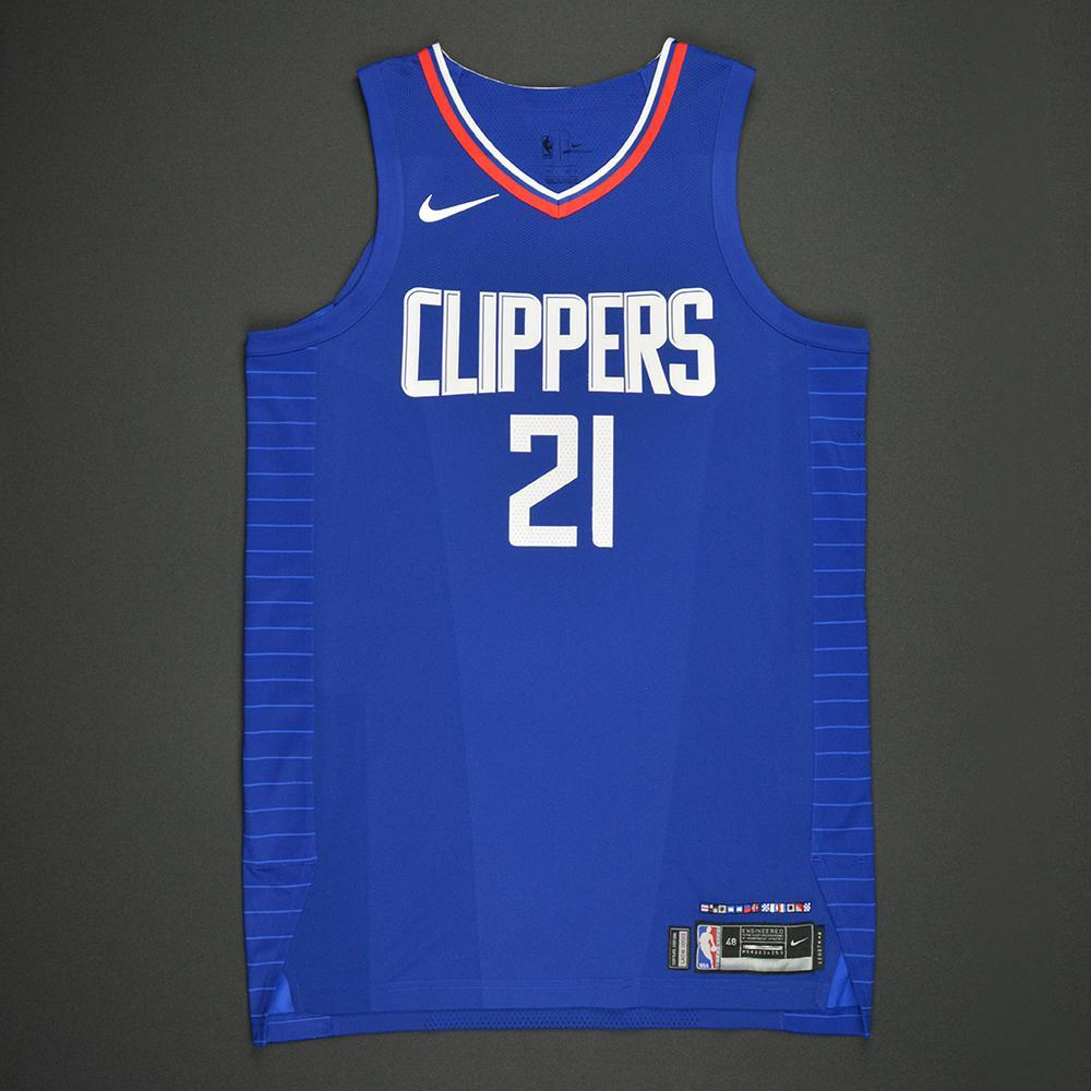 Patrick Beverley - Los Angeles Clippers - Kia NBA Tip-Off 2017 - Game-Worn 2nd Half Only Jersey