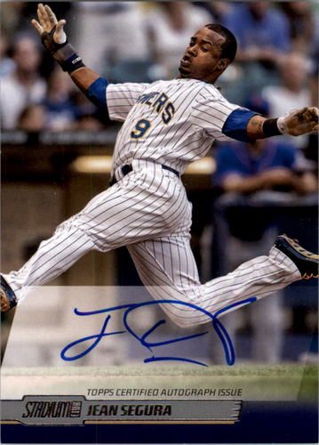 Photo of 2014 Stadium Club Autographs #SCAJSE Jean Segura