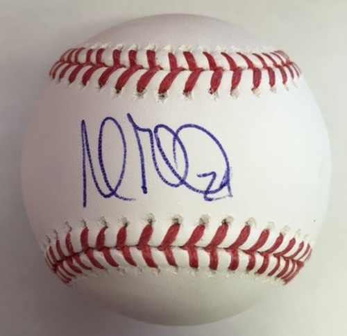 Photo of Andrew Miller Autographed Baseball