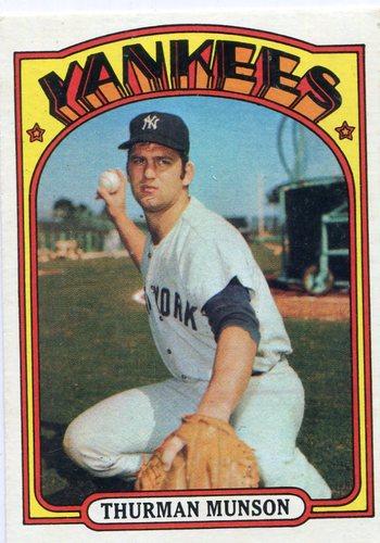 Photo of 1972 Topps #441 Thurman Munson