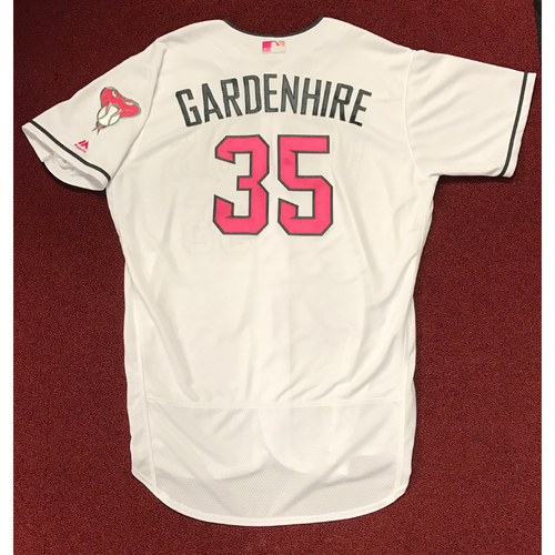 Photo of Ron Gardenhire Team-Issued 2017 Mother's Day Jersey