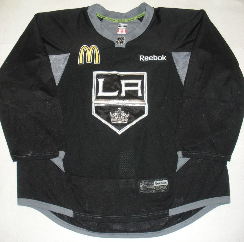 Martin Jones - 2014 Stanley Cup Final - Los Angeles Kings - Practice-Worn Jersey