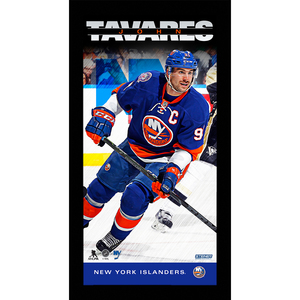 John Tavares New York Islanders Player Profile 10x20 Framed Photo