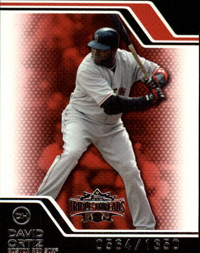 Photo of 2008 Topps Triple Threads #132 David Ortiz