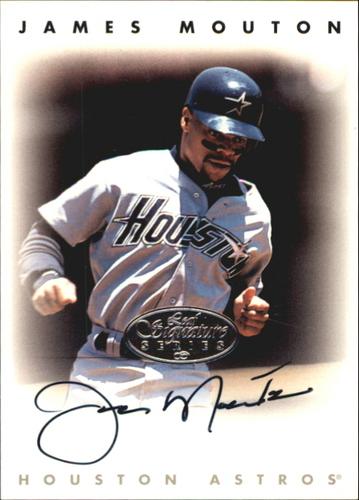 Photo of 1996 Leaf Signature Autographs Silver #163 James Mouton