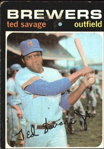 Photo of 1971 Topps #76 Ted Savage