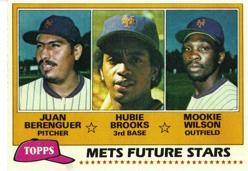 Photo of 1981 Topps #259 Juan Berenguer/Hubie Brooks RC/Mookie Wilson RC