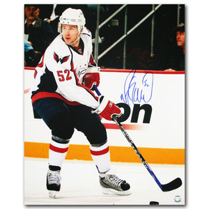 Mike Green Autographed Washington Capitals 16X20 Photo