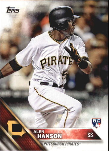 Photo of 2016 Topps Update #US146 Alen Hanson RC