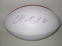 CHARGERS - VINCENT BROWN SIGNED PANEL BALL
