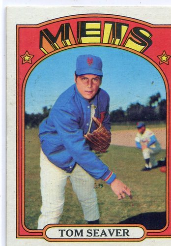 Photo of 1972 Topps #445 Tom Seaver Hall of Famer