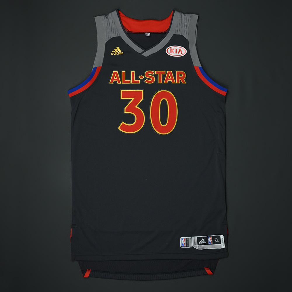 Stephen Curry - 2017 NBA All-Star Game - Western Conference - Autographed Jersey
