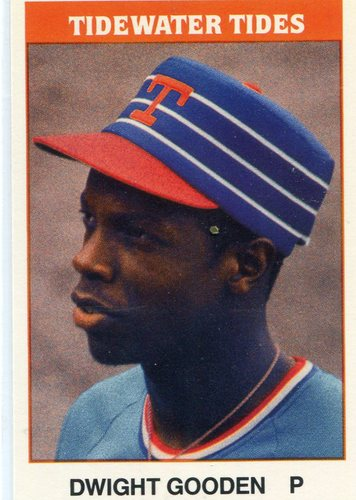 Photo of 1987 Tidewater Tides TCMA #30 Dwight Gooden
