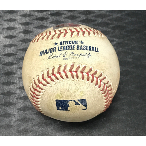 Photo of Game-Used Baseball - Paul Goldschmidt Double vs. Colin McHugh