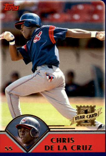 Photo of 2003 Topps Traded #T191 Chris De La Cruz FY RC
