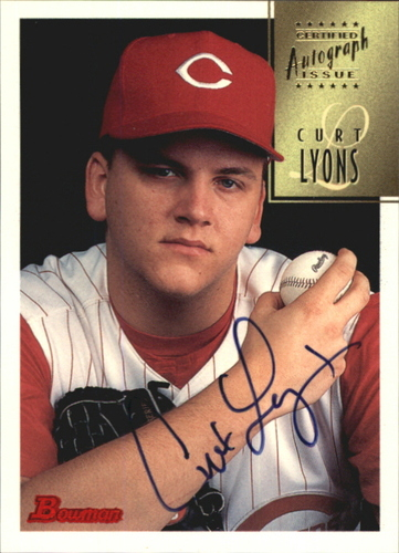 Photo of 1997 Bowman Certified Black Ink Autographs #CA50 Curt Lyons