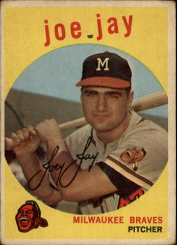 Photo of 1959 Topps #273 Joey Jay