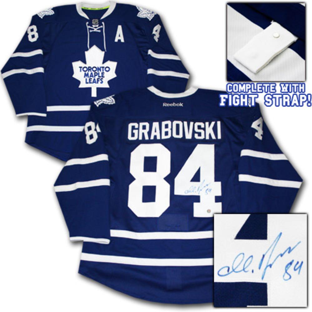 Mikhail Grabovski Autographed Toronto Maple Leafs Authentic Pro Jersey