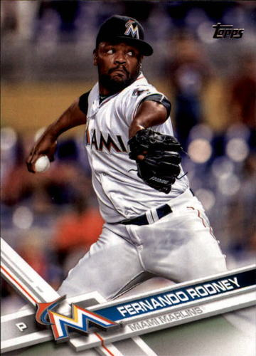 Photo of 2017 Topps #292 Fernando Rodney